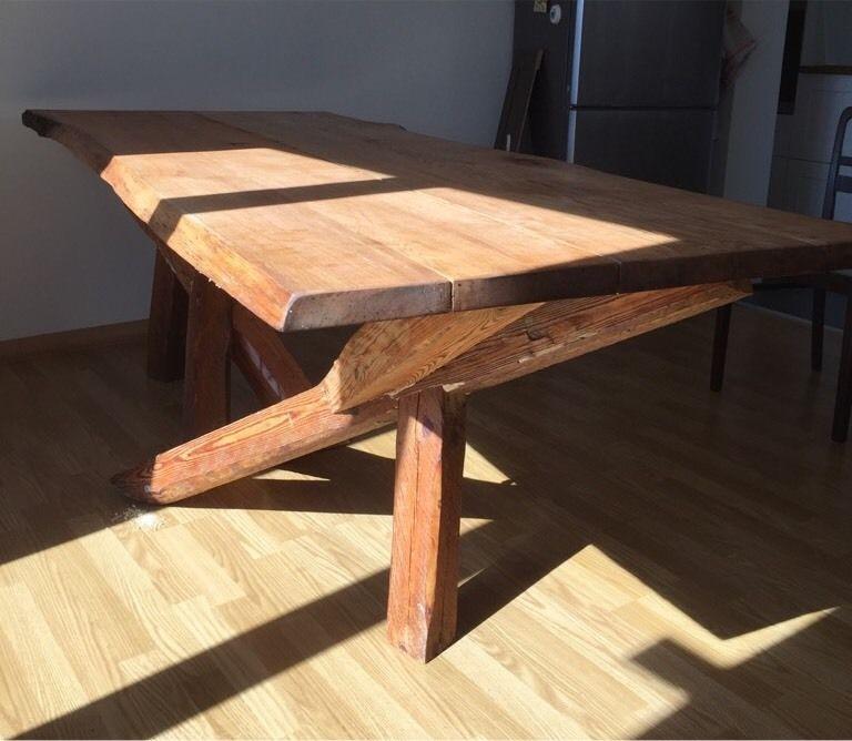 Unikat Möbel Selbstbau Eichentisch Kurs Handwerkerkurs Erwachsene Bei Eder Möbel Taucha Leipzig Restauration